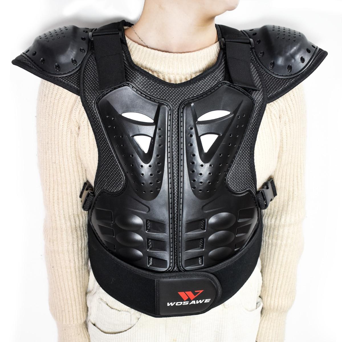 WOSAWE enfants protecteur de corps moto Dirt Bike protection gilet veste de cyclisme enfants Amour équipement pour Motocross patinage
