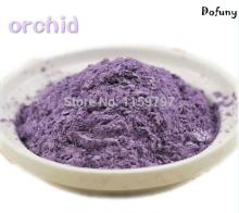 Orchid color mica effect pigment, nail polish pigment, DIY eyeshadow makeup powder, Pearlescent powder цена