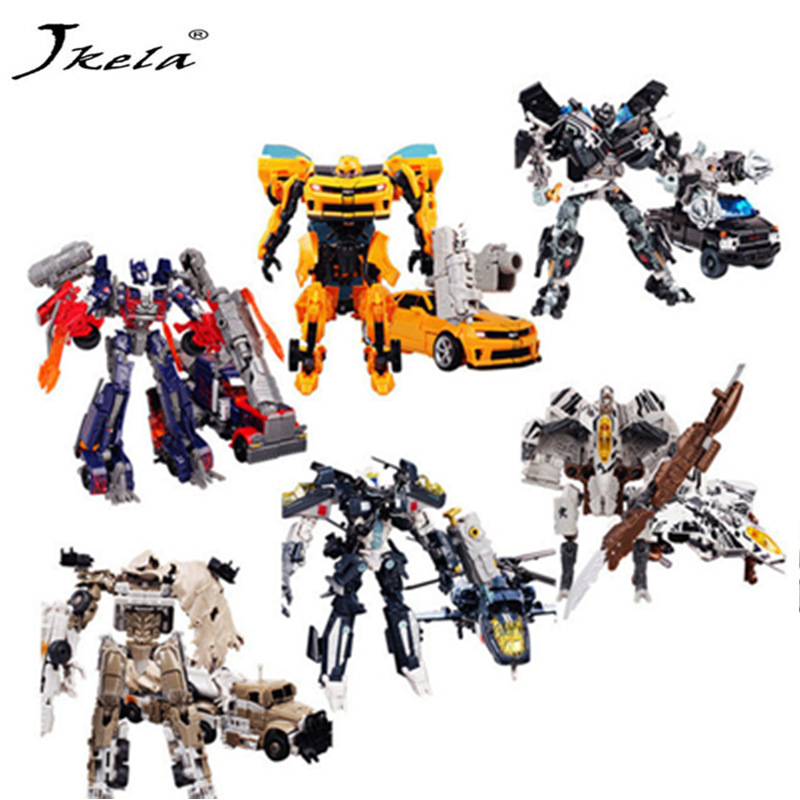 [New] In-stock 6 style Action figure Robots Deformed Action Figures Classic Toys For Children Classic Toy Gift
