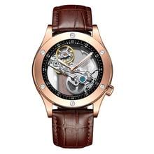 2019 New Famous Brand Fashion Personality Waterproof Hollow Watch Men Automatic Mechanical Wrist Watches mezczyzni ogladac
