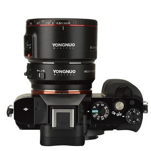 Image 5 - YONGNUO YN EF E השני חכם מתאם הר עבור Canon EF EOS עדשה לסוני NEX E הר A9 A7 השני a7RIII A7SII A6500 מצלמה