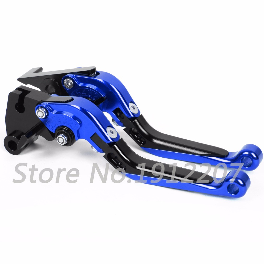 ФОТО For Yamaha YZF R1 1999-2001 Foldable Extendable Brake Clutch Levers Aluminum Alloy CNC High-quality Folding&Extending Hot Sale