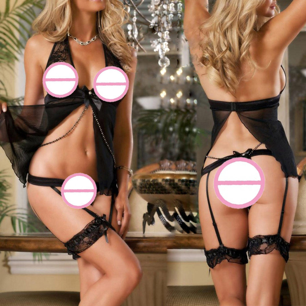 Newtop quality 1set women sexy lace racy underwear spice suit temptation underwear sous vetement femmedrop shopping