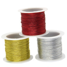 Rope Cords Garment Sewing-Supplies Birthday-Accessories Glitter Gift Wedding Gold Silver