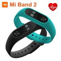 100 Original Xiaomi Mi Band 2 Miband 2 Smart Wristband OLED Display IP67 Waterproof Bluetooth Bracelet