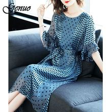 Genuo Summer Women Elegant Sexy Bandage Dresses Bodycon Lace Hollow Out Pencil Evening Party Halter White Vestidos Robe Femme