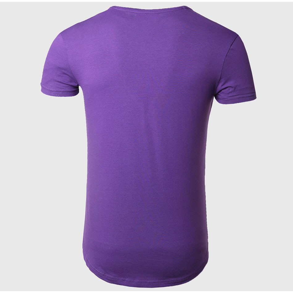 21 Colors Deep V Neck T-Shirt Men Fashion Compression Short Sleeve T Shirt Male Muscle Fitness Tight Summer Top Tees 41