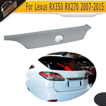 PU car rear spoiler auto rear window wings fit for Lexus RX350 RX270 2007-2015