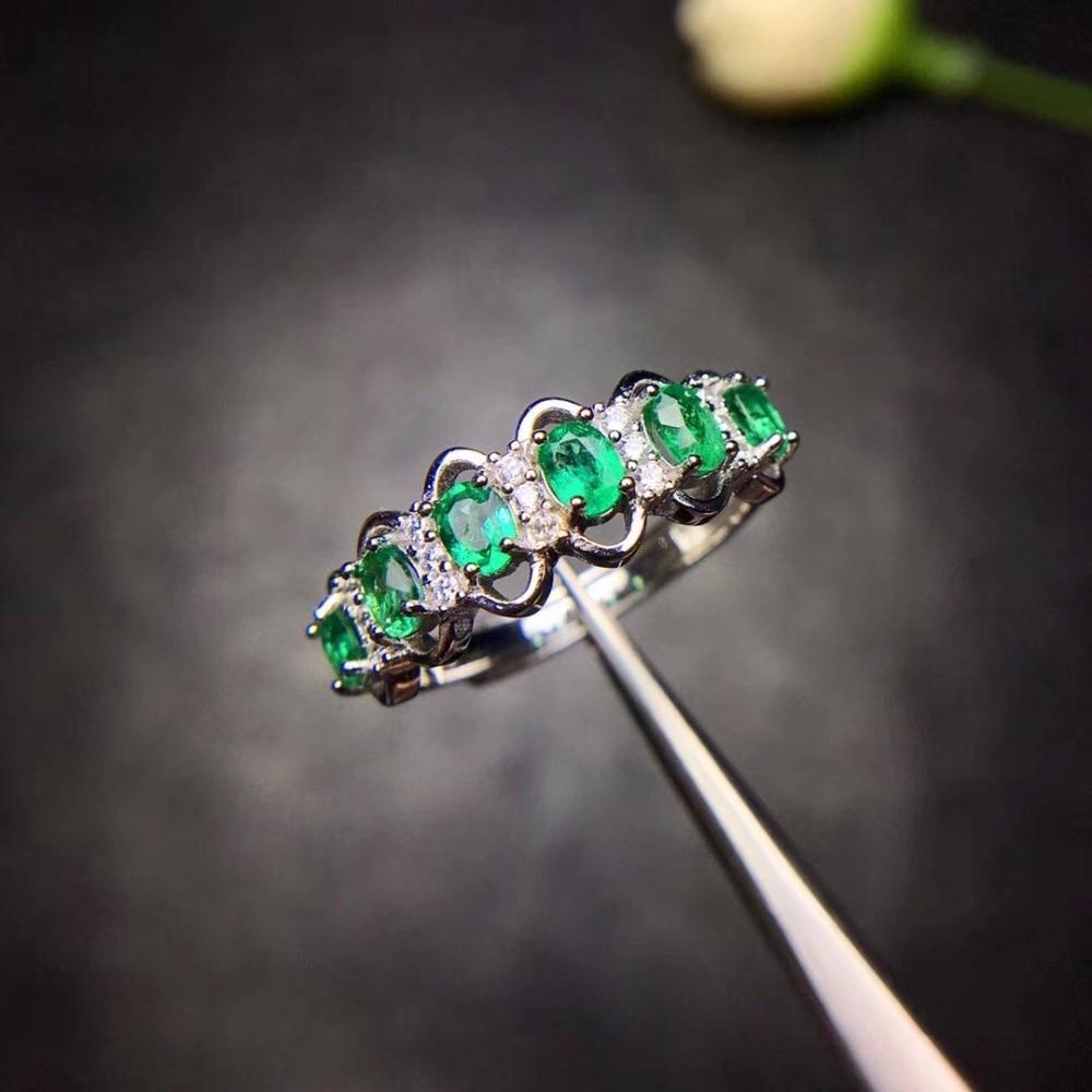 HTB1lNNGa HuK1RkSndVq6xVwpXaC - Uloveido Green Emerald Ring Flower Rings, Silver 925 Ring