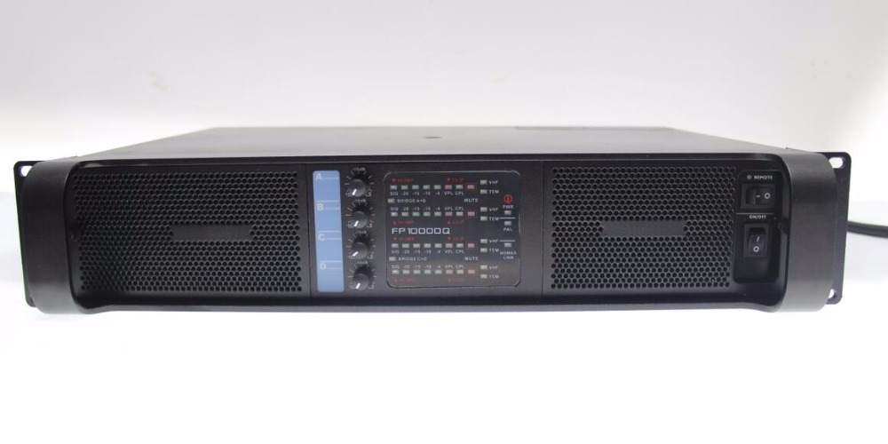 High Quality 4 channels 1000w power amplifier professional amplifier audio