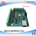 200KHz mach3 Controller card breakout board for CNC Engraving 4axis Ethernet port