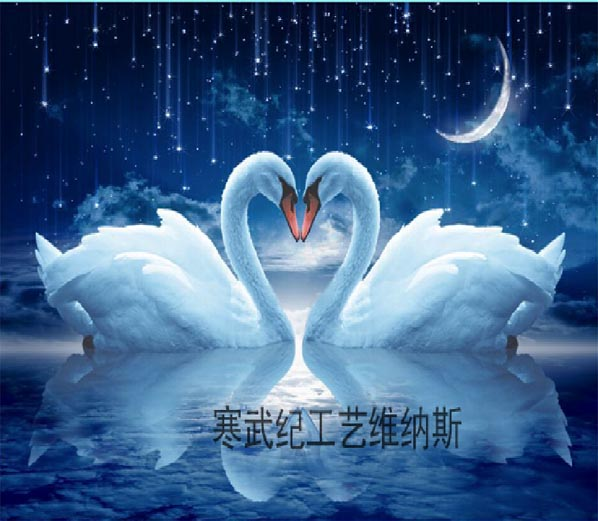 Swans By Moonlight >> New Diy Pearl Painting 35 67cm The White Swan In Moonlight Home
