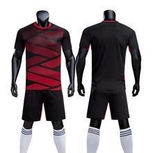 a4647e4c5 New football jerseys sets men soccer training suits blank football jerseys  sets breathable football jerseys sets