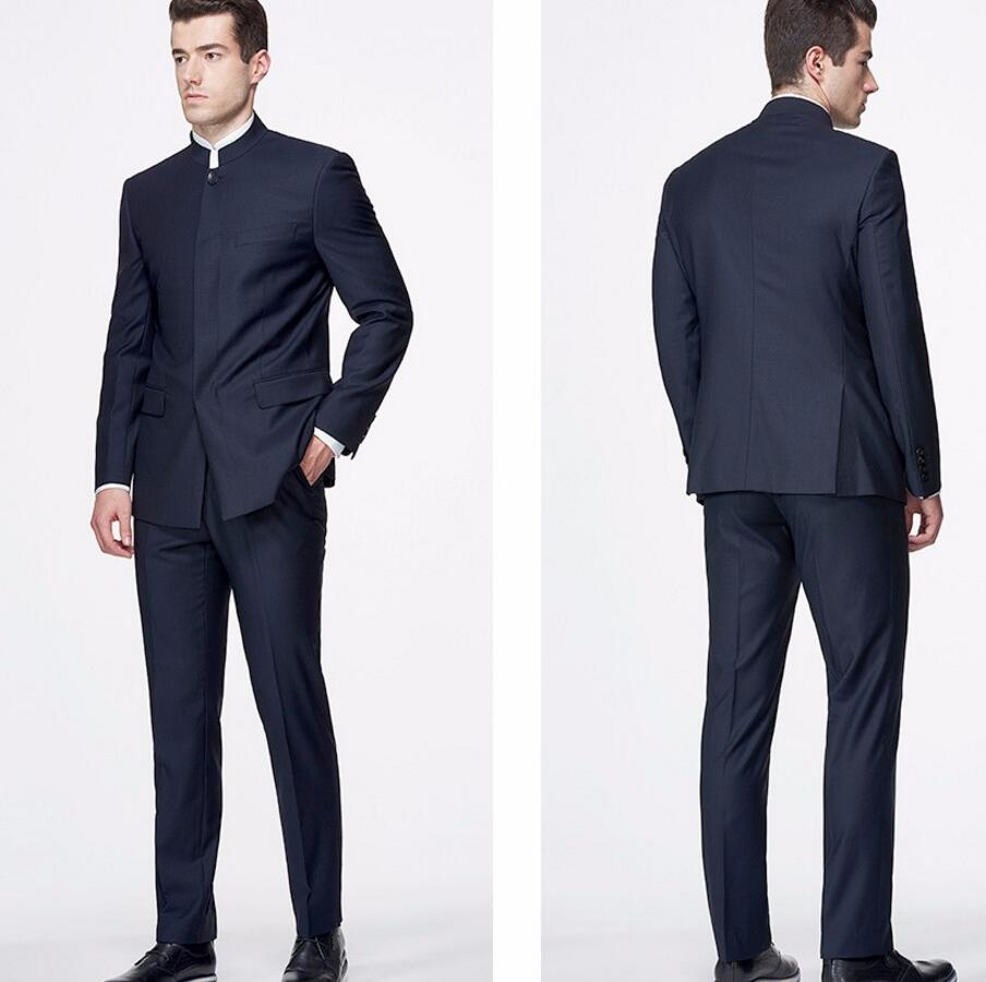 Aliexpress.com : Buy Tailor Made Men Suits Blazer Chinese Style ...