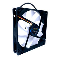 slient quiet low noise 140mm cooling fan 140*140*25mm DC12V 0.30A(rated 0.18A) 880RPM 15DBA axial computer pc case cooler|Fans & Cooling| |  -