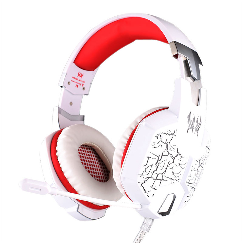 EACH G1100 Stereo Game Gaming Headphone Headset Headband Earphone Fone De Ouvido with Microphone LED Lights Casque for PC Gamer