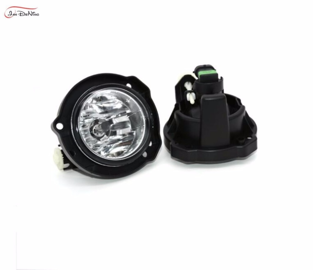 Jandening For Toyota Avanza 2012 2014 Front Fog Lamp Cover Trim 2004 Complete Replace Assembly Kit Black One Pair In Car Light From Automobiles Motorcycles
