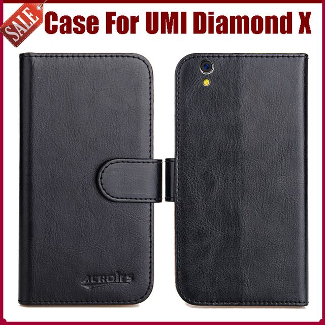 buy popular 6e0cf bc09e US $4.59 8% OFF|Hot Sale! UMI Diamond X Case New Arrival 6 Colors High  Quality Flip PU Leather Protective Phone Case For UMI Diamond X Cover-in  Flip ...