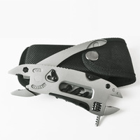 1PCS Mini Outdoor Multitool Pliers Pocket Knife Screwdriver Adjustable Wrench Jaw Spanner Repair Survival Hand Multi
