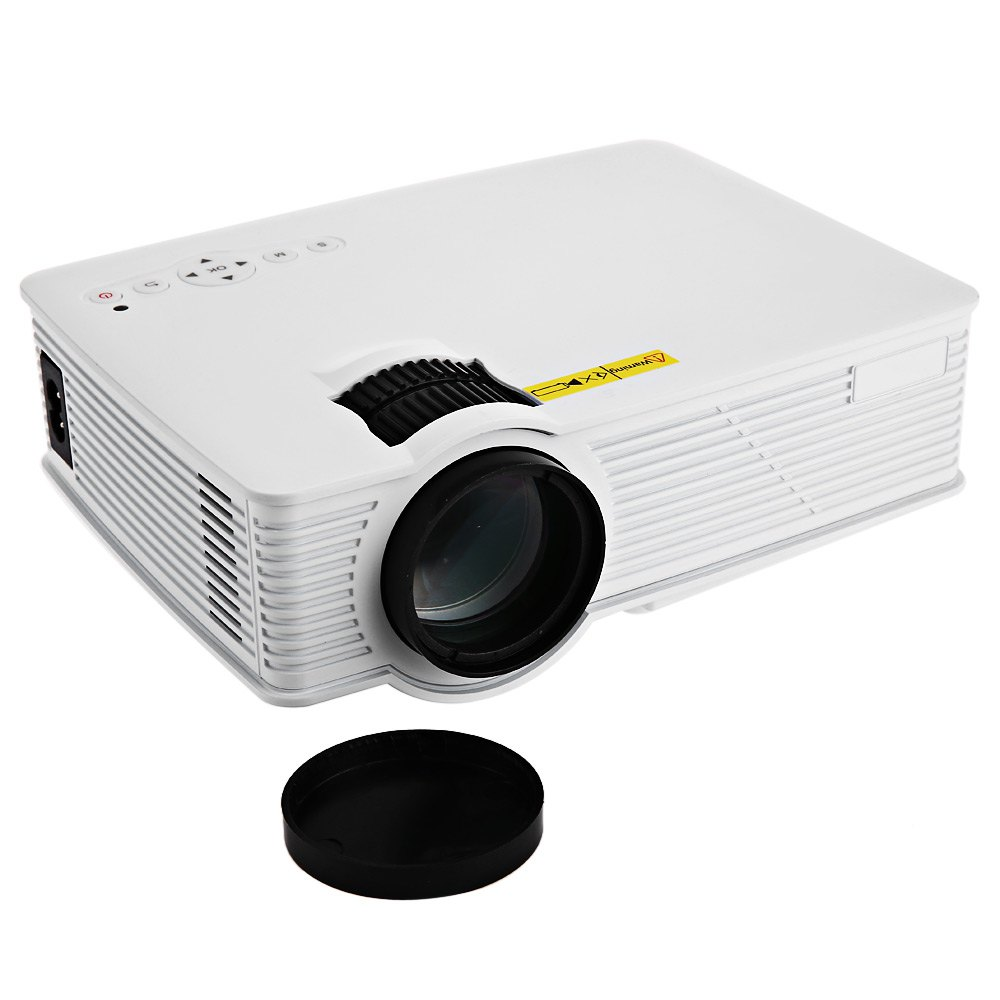 Gp 9 mini home cinema theater hd lcd projector 2 usb 2000 for Highest lumen pocket projector