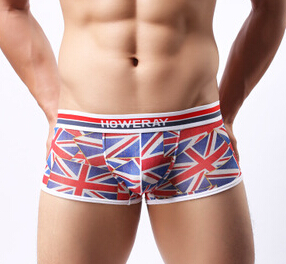 Gay Underwear Jack-Figure Boxers Sexy Men's Brand Union 1pcs Howe-Ray Appeal Low-Rise