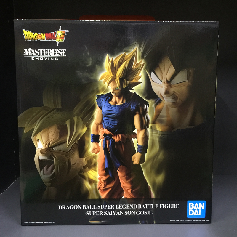 Anime Dragon Ball SUPER Original BANDAI SPIRITS Banpresto LEGEND BATTLE FIGURE Collection Figure Super Saiyan Son
