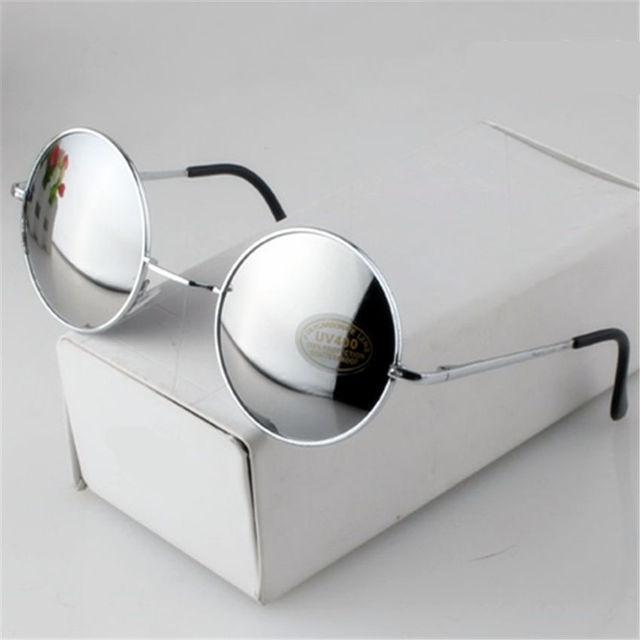Fashion Vintage Round Sunglasses For Women Men
