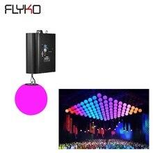 Бесплатная доставка Лидер продаж этап полного цвета dmx512 3d мяч моторизованный светодио дный кинетическое освещение
