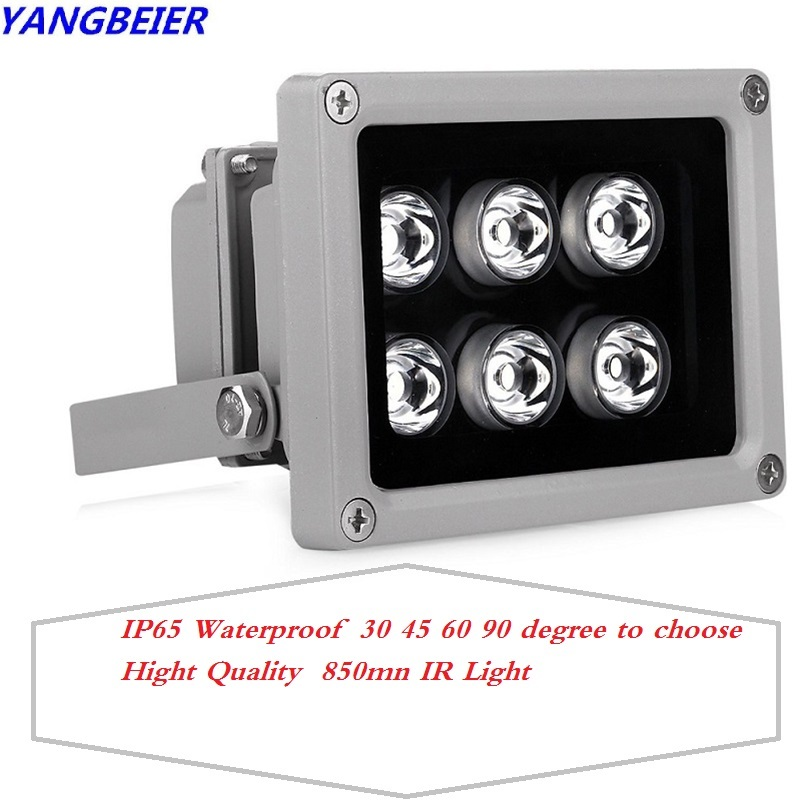 Mini Led Light Infrared CCTV Illuminator Fill Lamp IR 850nm Leds Night Vision Outdoor Waterproof Light For IP Security Camera dhl ems new yamatake azbil photoelectric sensor hpx t4
