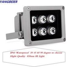Mini Led Light Infrared CCTV Illuminator Fill Lamp IR 850nm Leds Night Vision Outdoor Waterproof Light For IP Security Camera