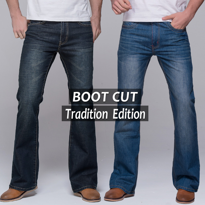 Online Buy Wholesale mens flared jeans from China mens flared ...