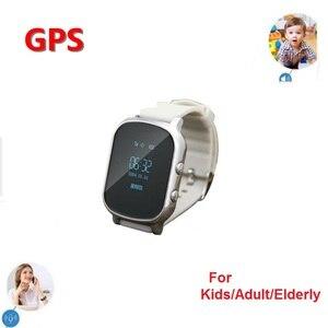 Image 4 - Stepfly S58 GPS enfants montre intelligente SOS appel localisation Finder Tracker pour enfants Anti perdu moniteur à distance bébé montre bracelet pk Q50