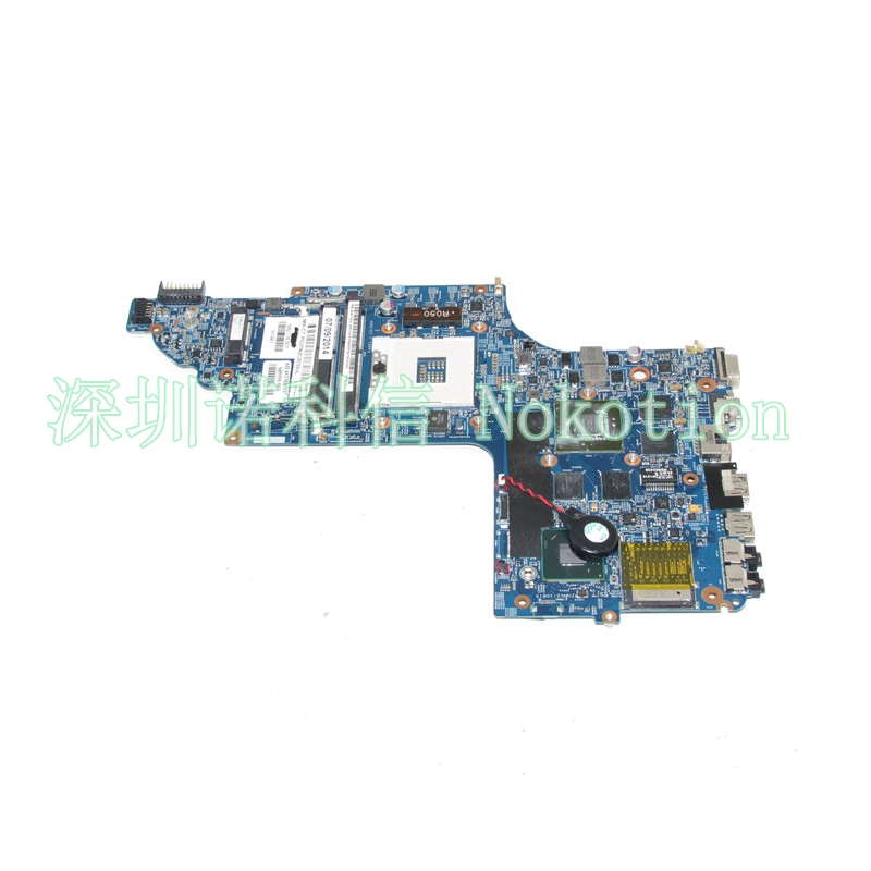NOKOTION 682174-501 laptop motherboard For HP pavilion DV6 DV6-7000 48.4ST06.021 15 Inch GT650M 2G Graphics Mainboard Full works 574680 001 1gb system board fit hp pavilion dv7 3089nr dv7 3000 series notebook pc motherboard 100% working
