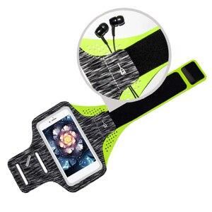 Спортивный Чехол-держатель Besegad для смартфона iPhone 8 7 6 5S Huawei, 5 дюймов