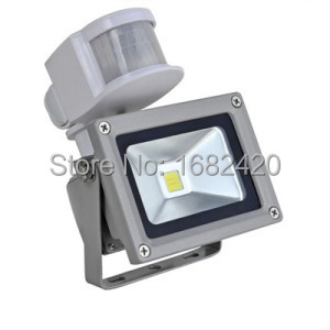 Kung Free shipping 12V 10W Input PIR LED flood light for Solar system garage for security with Motion Sensor Time Lux adjustKung Free shipping 12V 10W Input PIR LED flood light for Solar system garage for security with Motion Sensor Time Lux adjust
