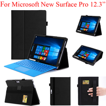 "For Microsoft New Surface Pro 12.3"" Pouch Bag Cover Case, Can Work With Keyboard. For The NewSurfacePro Guard Protector Shell"