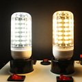 Dimmable E27 Led corn bulb AC220V-240V SMD5733 56leds bedroom LED indoor lighting 3 levels light