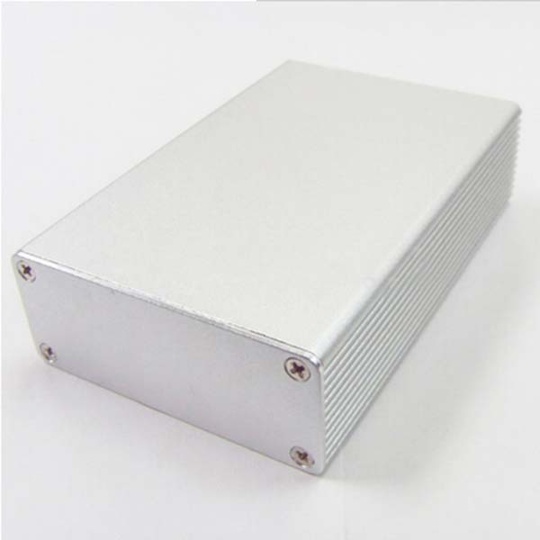 Aluminum Box extruded Enclosure junction Case 27mm(1.06)(H)X66mm(2.59)(W)X100mm(3.93)(L) NEW 1pcs lot custom processed factory extrusion aluminum material electrical junction box case enclosure 80 h x234 w x250 l mm