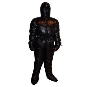 Image 3 - 새로운 스타일은 정장 아래로 1500g 거위 아래로 방수 전문 편안한 겨울 다운 재킷을 작성