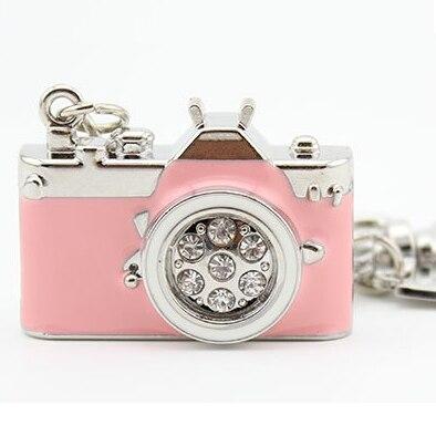 Disk-Key Pen-Drive Jewelry Memory-Card Usb-Stick Camera Usb 128GB Girl Cute 32GB 16GB