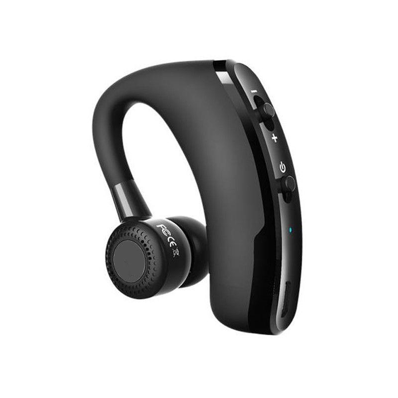 V9 наушники хэндс-фри Бизнес Bluetooth наушники с микрофоном Беспроводной Bluetooth гарнитура для езды на автомобиле Шум сокращения
