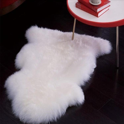 Real white sheepskin rug sheep skin carpet floor fur blanket decorative throw blankets rugs and carpets.jpg 250x250