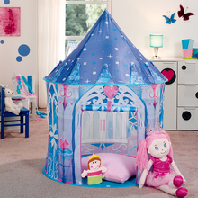 2017 Top Sell Kids Play Tent Children House Ice Princess Castle Shape Indoor And Outdoor Yard
