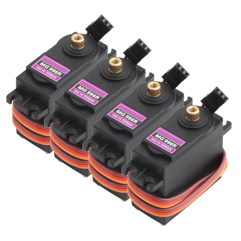 4pcs MG996R 55g Metal Gear Torque Digital Servo 15KG for RC Helicopter Car Robot OEM 1x free shipment original factory high torque servo 15kg ds3115 servo metal gear digital standard servo for rc car boat plane