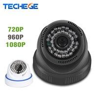 Techege 2.8 MM Grande Angular 1080 P 960 P 720 P Câmera DOME IP Indoor HD IR Rede P2P ONVIF 2.0MP Xmeye 1.0MP CCTV Câmera de 1.3MP