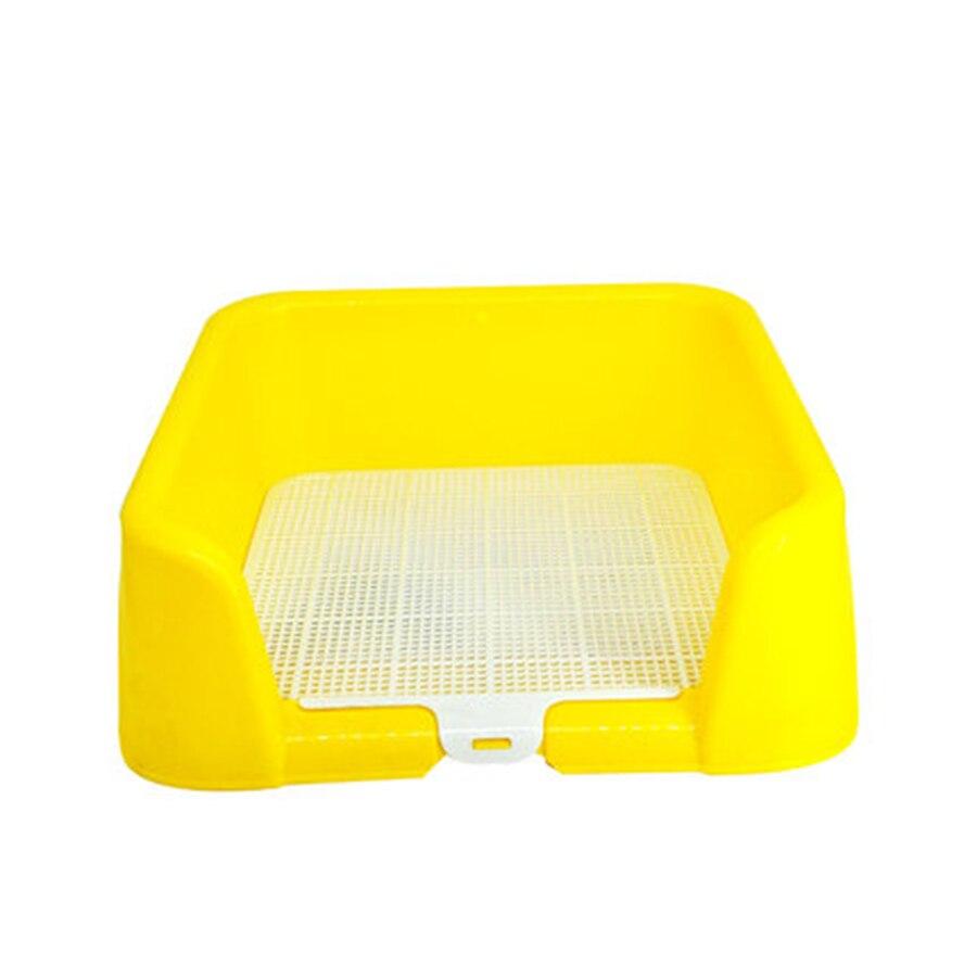 Chiot plaque toilette pot formation fournitures plateau chien litière boîte grand Haustier animaux Perros accessoires chiens fournitures 90A0905