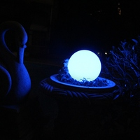 20CM luminarias led growing ball light garden decoration globe lighting for event party decoration free shipping 50pcs/Lot