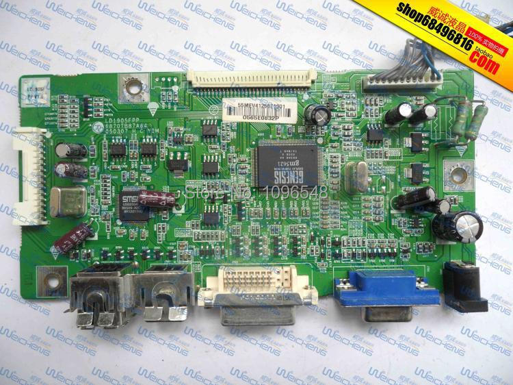 ФОТО Free Shipping>Original  1905FP 6870TB87A64 driver board / motherboard / signal board-Original 100% Tested Working