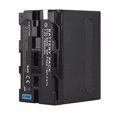 7800mah High Capacity 7.2V NP-F960 NP-F970 digital camera batteries For Sony F960 F970 Battery Dropshipping&wholesale