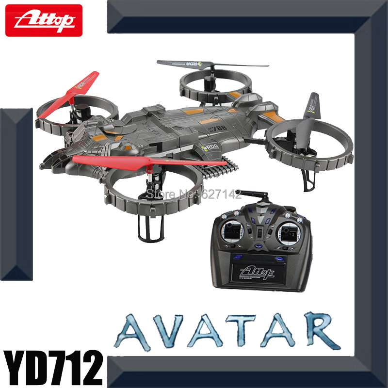 Free Shipping Attop Avatar RC Quadcopter 2.4G Remote